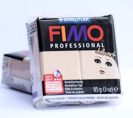 Fimo Professional Doll Art 85g - 03-portelan semi-opac
