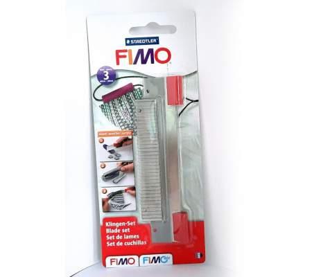 Cutter Fimo, 3 buc
