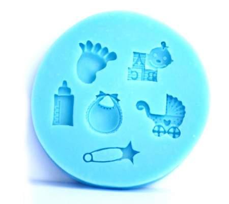 Mulaj silicon decoratiuni bebe - MSC2