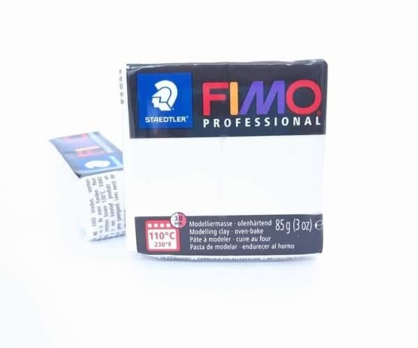 Fimo Professional 85g - 0-alb