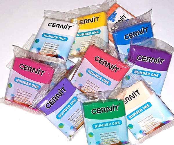 Cernit Number One 56g - 027-opaque white